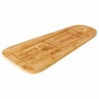Käsebrett, Bambus Küchenzubehör mit Muster - 45 x 19, 7 cm - SECRET de GOURMET