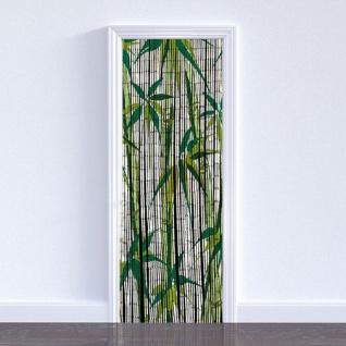 WENKO Bambusvorhang Türvorhang Bambus Vorhang Bamboo 90x200 cm