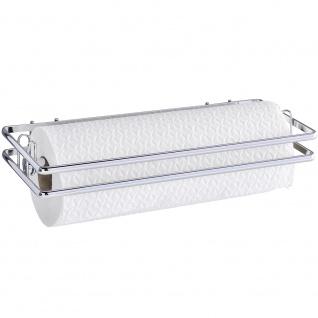 Küchenrollenhalter Style-Wandrollenhalter, Liter 32 x 4 x 13 cm, silber glänzend