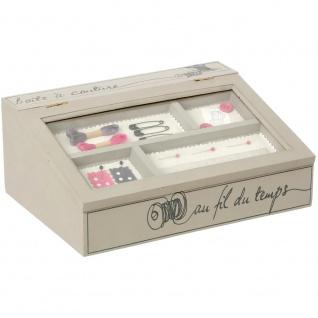 dekorative Box für kleine Gegenstände - Holz, 28x21x11 cm
