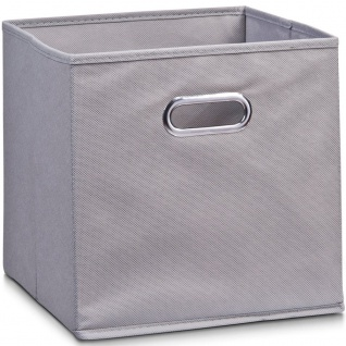 Aufbewahrungskorb, Organizer, grau, 32 x 32 x 32 cm, ZELLER