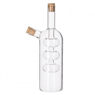 Secret de Gourmet, Flasche für Öl und Essig - 2in1