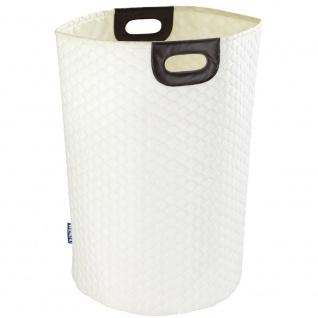 WABO Wäschesack, Textilbeutel mit Tragegriffen - 75 l, WENKO