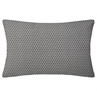 Dekokissen für Wohnzimmer Schlafzimmer Schlafsofa Pastellrosa mit Muster 50x30 cm