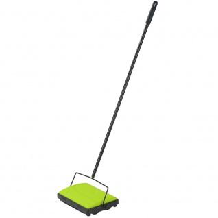Teppichkehrer Kehrmaschine Teppich Teppichroller 2 Kehrbürsten - Vorschau 3