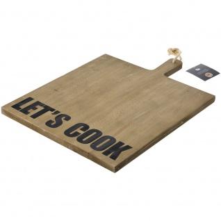 Dekorative Tafel zum Servieren von PINEWOOD Geschirr, Schneidebrett 54x40x2cm