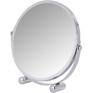 WENKO, Kosmetikspiegel Mera, Spiegelfläche Durchmesser 16cm, 500% Vergrößerung