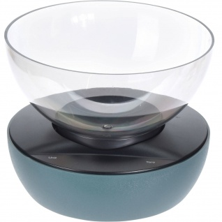 Küchenwaage, elektronisch, mit Schüssel 1, 3 L, blau
