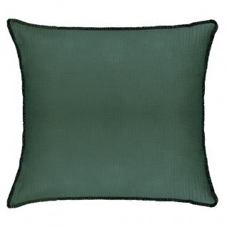 Deko-Kissen für Wohnzimmer, 40 x 40 cm, grün - Atmosphera