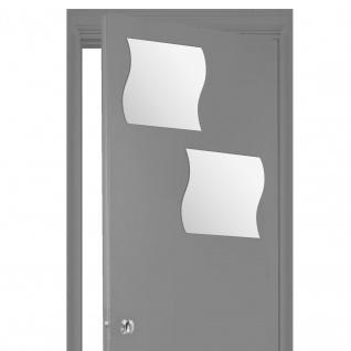 Adhesive Spiegel für Ihre eigene Anordnung, Set von Dekorationen mit einzigartiger Form
