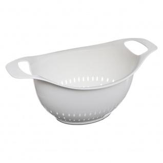 Küchensieb Sieb Sieb mit Griffen, Ø 18 cm, grau - 5five Simple Smart