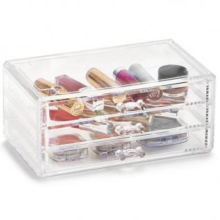 Kosmetik-Organizer mit 3 Schubladen , ZELLER