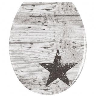 WENKO WC-Sitz STAR Duroplast