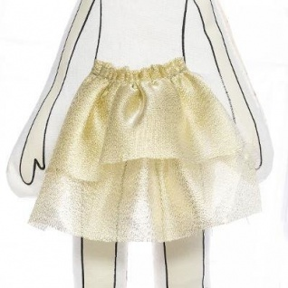 Baby Kuschelmädchen, rosa Kleid, 50 cm - Atmosphera for kids - Vorschau 5