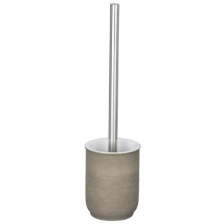 WC-Bürste und Behälter mit elegantem Design, Toilettenschüsselreinigungsset - WENKO