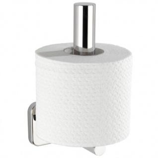 Toilettenpapierhalter MEZZANO, silbern, WENKO