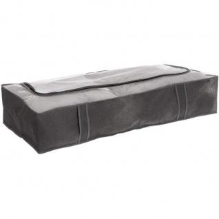 Bettbezug für Bettwäsche, Kleidung, 100 x 45 x 20 cm, schwarz - 5five Simple Smart