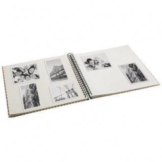 Fotoalbum, 240 Seiten, Spirale, dunkelblau - Atmosphera - Vorschau 3