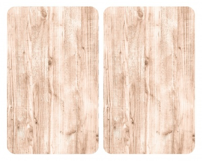 Herdabdeckplatten NATURAL LOOK, 2 Stück, WENKO - WENKO
