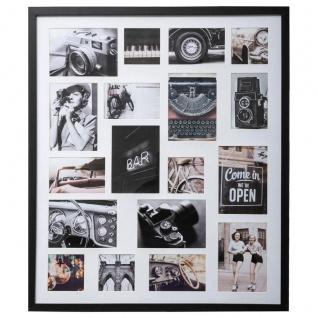 Multirahmen AXEL, 64 x 75 cm, 18 Fotos