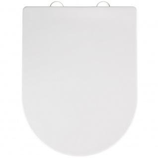 WENKO Premium WC-Sitz Calla Thermoplast , mit Absenkautomatik