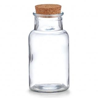 Küchenbehälter für Gewürze, dekoratives Glas, 250 ml, ZELLER