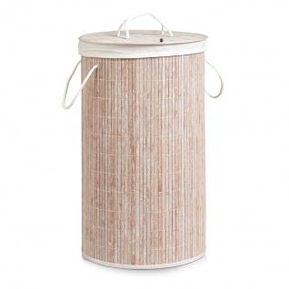 Wäschekorb aus Bambus, 55 Liter, ZELLER - Vorschau 5