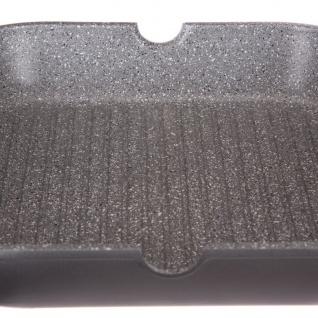 Secret de Gourmet, Aluminium Grillpfanne, Granitbeschichtung, 28 cm - Vorschau 3