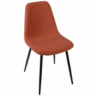 Hellgrau Stuhl, bequemer Sitz, ideal für Wohnzimmer oder Esszimmer - Atmosphera