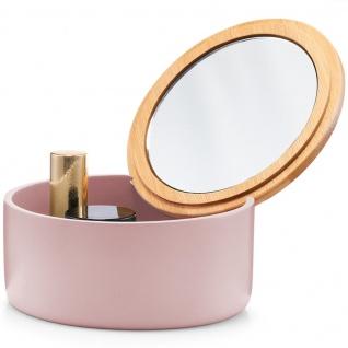 Organizer mit Fächern für Kleinteile, stylische Box mit Spiegel - ZELLER - Vorschau 5