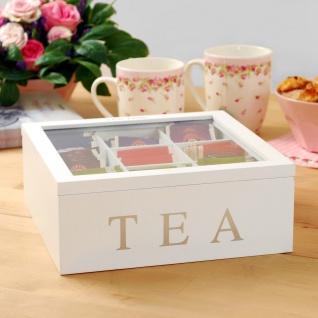 Holz Teebox TEA, 9 Fächer - Vorschau 2