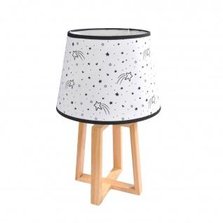 Lampe HELLO JUNGE in schönen Mustern aus Holz für Kinder, Höhe 45 cm, Durchmesser 28 cm, Douceur d'intérieur