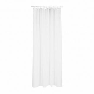 Duschvorhang aus Polyester, 180x200cm, Farbe weiß