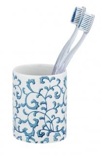 Keramiktasse für Zahnbürste MIRABELLO, Wenko