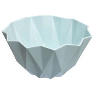Salatschüssel, Schüssel für Obst, Salate, Snacks - weiße Farbe Ø 23 cm, H: 12 cm