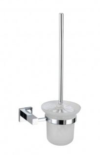 WENKO, Power-Loc, WC-Ersatzrollenhalter San Remo, Messing, 17 x 38 x 12 cm, Chrom