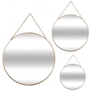 Hängende Spiegel von runder Form und verschiedenen Größen, Satz von drei dekorativen Spiegel - Atmosphera Créateur d 'intérieur
