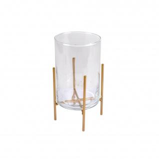 Glasvase auf dem Ständer, Ø 10 cm - Douceur d'intérieur
