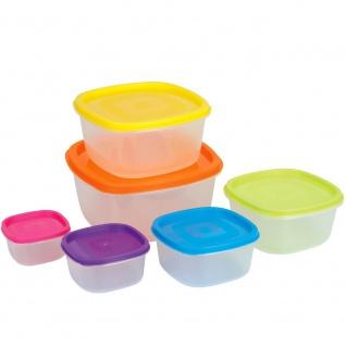 Aufbewahrungsbehälter für Lebensmittel, 6 in 1