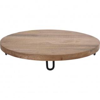 Eco Style Snackbrett für jede Küche, Durchmesser 40 cm.