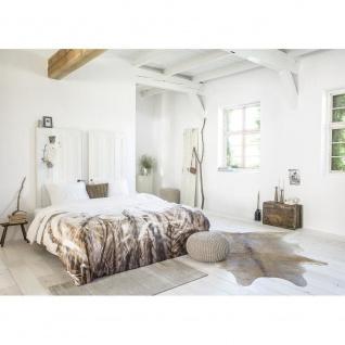 MAGIC WAVING Baumwolle Bettwäsche 200 x 200/260 cm Duft der Natur - Royal Textil