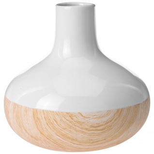 Vase WOOD LOOK aus Keramik, verschiedene Größen