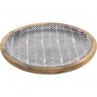 Tischaufsatz Griff Black&White 30 cm - EH Excellent Houseware