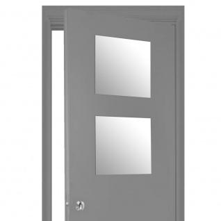 2 selbstklebende Spiegel, selbstklebende Teile für die Inneneinrichtung