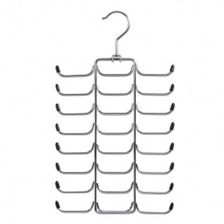 ZELLER Krawatten- und Gürtelhalter, Metall verchromt