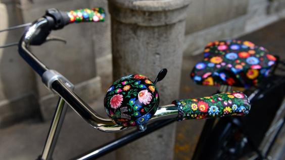 """Bunte Fahrradklingel ,, Boom"""" von Remember Marke, Design-Gadget für Radfahrer - Remember - Vorschau 5"""