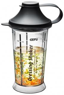 Shaker mit Schaufel für Saucen, Dips, Cocktails, praktischer Mixer mit Behälter.