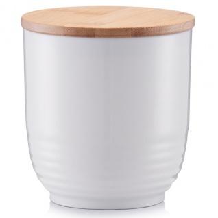 Bambus Kunststoff Box Lebensmittel Vorratsbehälter kratzfeste Deko Box