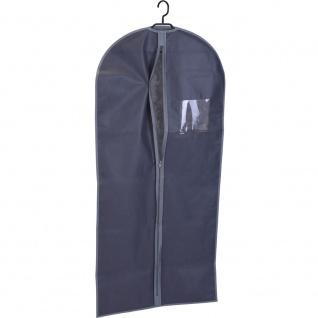 Kleiderschutzhülle mit Reißverschluss 61x135 cm