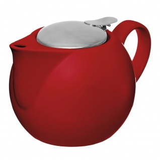 Teekanne mit Edelstahlfilter, 75 cl, Rot cm Tomette - Secret de Gourmet